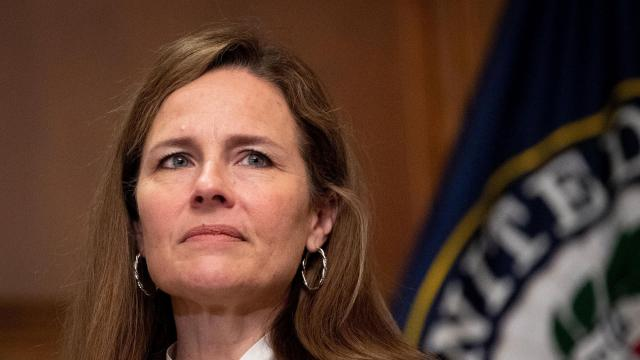 White House holds swearing-in ceremony for Amy Coney Barrett