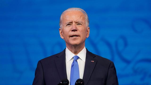 Biden introduces key members of climate team