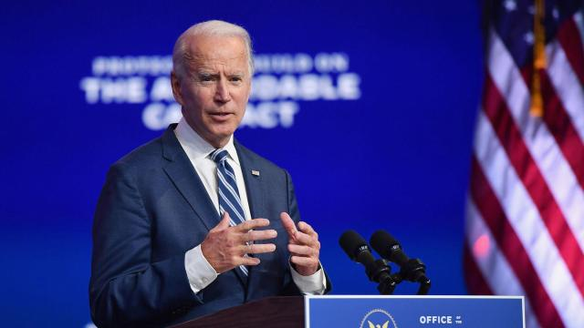 Biden delivers remarks ahead of Christmas