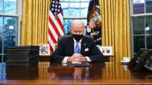 IMAGES: Biden Unveils a National Pandemic Response That Trump Resisted