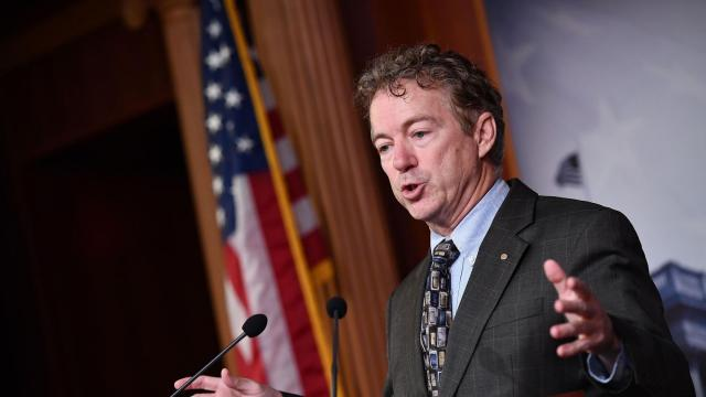 Rand Paul test vote sidelined but offers early look at Republican support for Trump impeachment trial