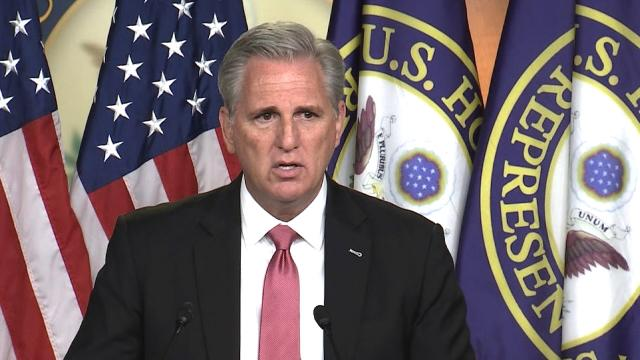 Fact-checking McCarthy's blame game on removal of National Guard from Capitol