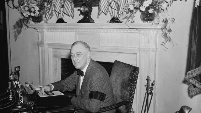 White House reinstates regular presidential addresses to the nation in the style of FDR's fireside chats