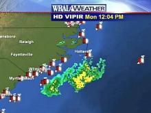 Low Pressure System Kicks Up Swells Off N.C. Coast