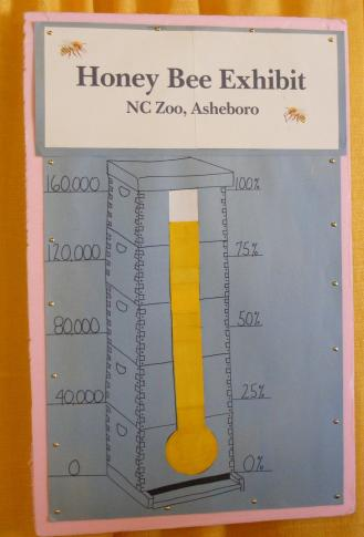 The NCSBA has almost reached its goal of $160,000 to raise for a permanent honey bee exhibit at the Zoo.