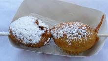 Deep Fried Reese's -- Perfect for Sharing