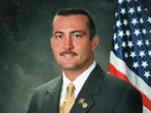 Sheriff Ronald Hewett (photo: courtesy of the Brunswick County Sheriff's Department)