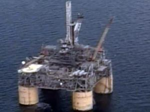 Offshore drilling, offshore oil rig
