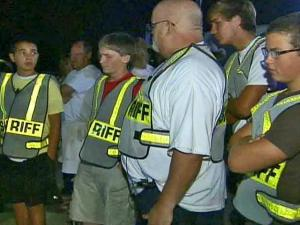 Approximately 60 agents from nine law-enforcement agents conducted a checkpoint at Fayetteville and Legend roads in Wake County on Friday, Aug. 8, 2008. High schoolers and their parents were on hand to see officers arrest 11 people for driving while impaired.