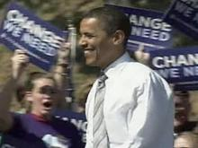 Obama appears at Asheville rally