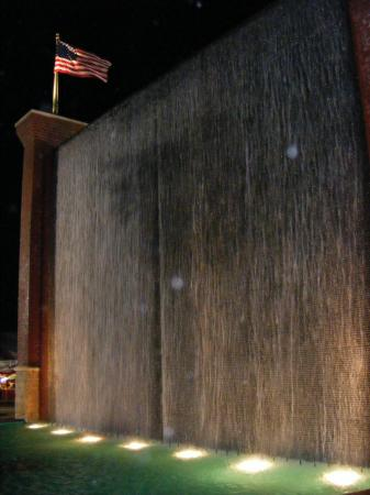 It's great to see the waterfall back for the 2008 Fair.