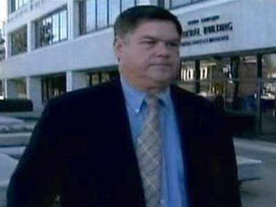 Former mail carrier Steven Padgett leaves the federal courthouse in Raleigh on Nov. 19, 2008, after being placed on probation for not delivering mail.