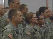 Guard unit from Durham holds deployment ceremony