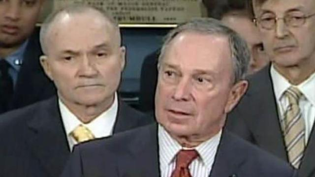 N.Y. Mayor Michael Bloomberg