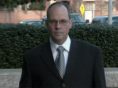 Philip Guyett Jr., shown entering U.S. Federal Court in Raleigh on March 9, 2009, faces up to 60 years in prison for falsifying the medical histories of cadavers he used to harvest tissue for transplants.