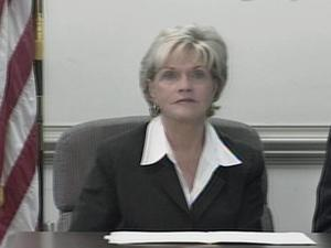 Gov. Bev Perdue gave an update on the H1N1 virus on Sunday, May 3, 2009.
