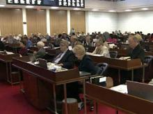Legislators work overtime to meet deadline