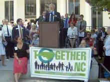 Together NC rally