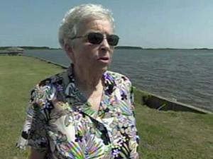 Jeanee Acree, who has lived on the Outer Banks for 30 years, doesnt think Danny will create anything worse than what Bill brought last week.