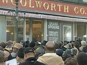 Hundreds of people attended the opening of the International Civil Rights Center and Museum in Greensboro on Monday, Feb. 1, 2010.