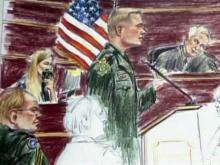 Sketch of Timothy Hennis court-martial