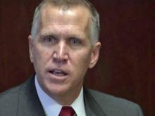 Tillis: GOP's closed-door meetings legal