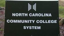 North Carolina Community College System sign