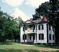 Harper House served as a field hospital during the Civil War.