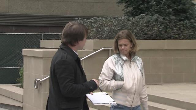 Representatives of American Elect solicited signatures for their effort Sunday in Raleigh.