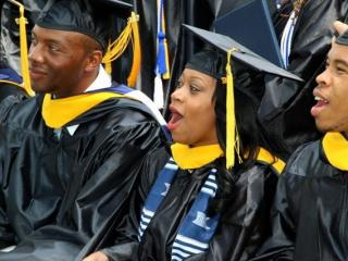 The 210 graduates being honored Saturday are the last college class to graduate from St. Augustine's. In August, one of the nation's oldest four-year schools to serve a historically-black student population will graduate as well -- to university status.