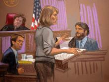 Sketch of Tim Toben testimony