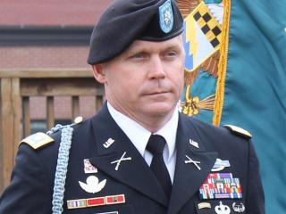 Lt. Col. Roy Tisdale, 42, of Alvin, Texas, was killed June 26, 2012, when a member of his unit opened fire during a safety briefing at Fort Bragg. (Photo courtesy of the U.S. Department of Defense)