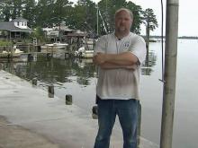 Carolina Seafood in Aurora, Hurricane Irene recovery