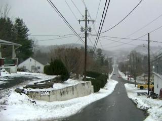 West Jefferson snow