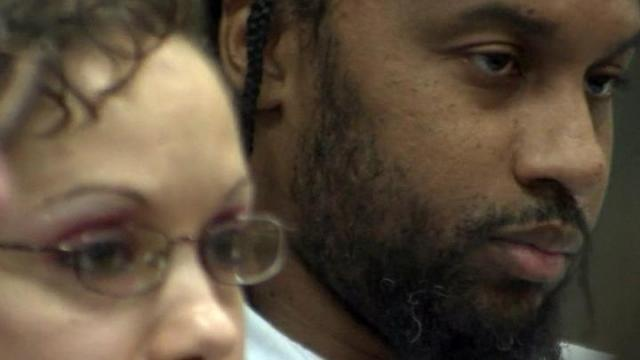 """Death row inmates Christina """"Queen"""" Walters and Tilmon Golphin learn during a Dec. 13, 2012, hearing that their sentences have been commuted to life in prison after a judge determined racial bias was a factor in jury selection before their trials."""