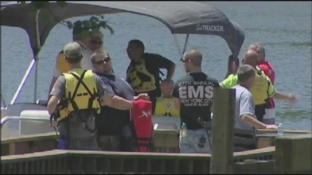 Two people were killed following a boat crash on High Rock Lake Saturday, May 25, 2013.