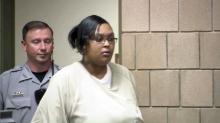 Antoinette Davis in court
