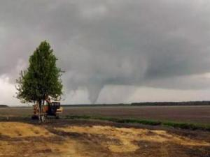 A tornado in Pantego, N.C. on Monday, April 7, 2014. (Photo courtesy Danny Morris)