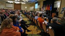 IMAGES: Army holds 'listening session' about Bragg force reductions