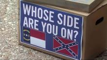 Petitioners urge action on Confederate plates