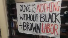 IMAGES: Duke won't negotiate with students until sit-in ends