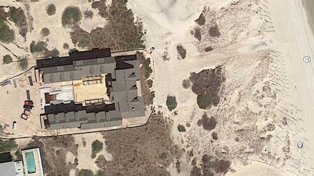 A nearly 20,000-square-foot structure north of Corolla is the subject of a legal fight over whether it qualifies as a single-family residence. (Photo from Google Maps)