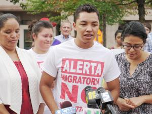 Wildin David Guillen Acosta shared his story for the first time at an Aug. 29 press conference.
