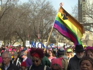 Thousands gathered in Raleigh on Saturday, Feb. 11, 2017 for the Moral March.