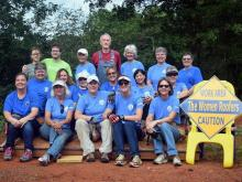 Women Roofers complete their 100th roof
