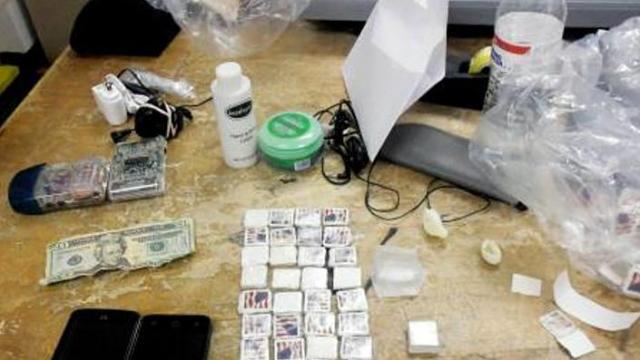Department of Public Safety shows off contraband found at NC prisons