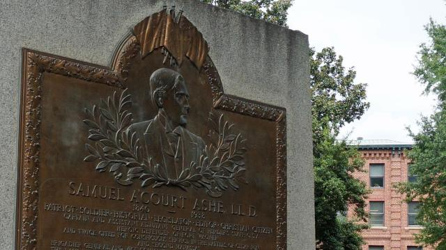Samuel A'Court Ashe memorial