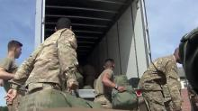 Fort Bragg soldiers deploy