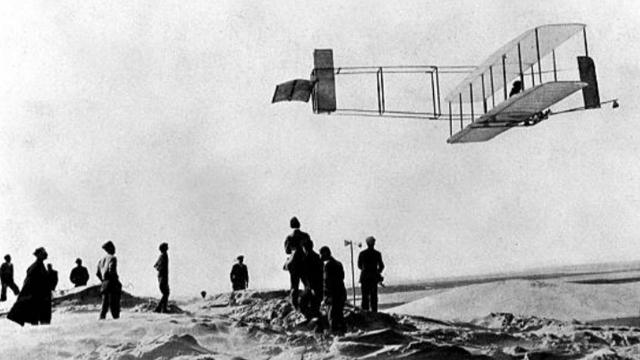 This day in history: The first airplane flies :: WRAL com
