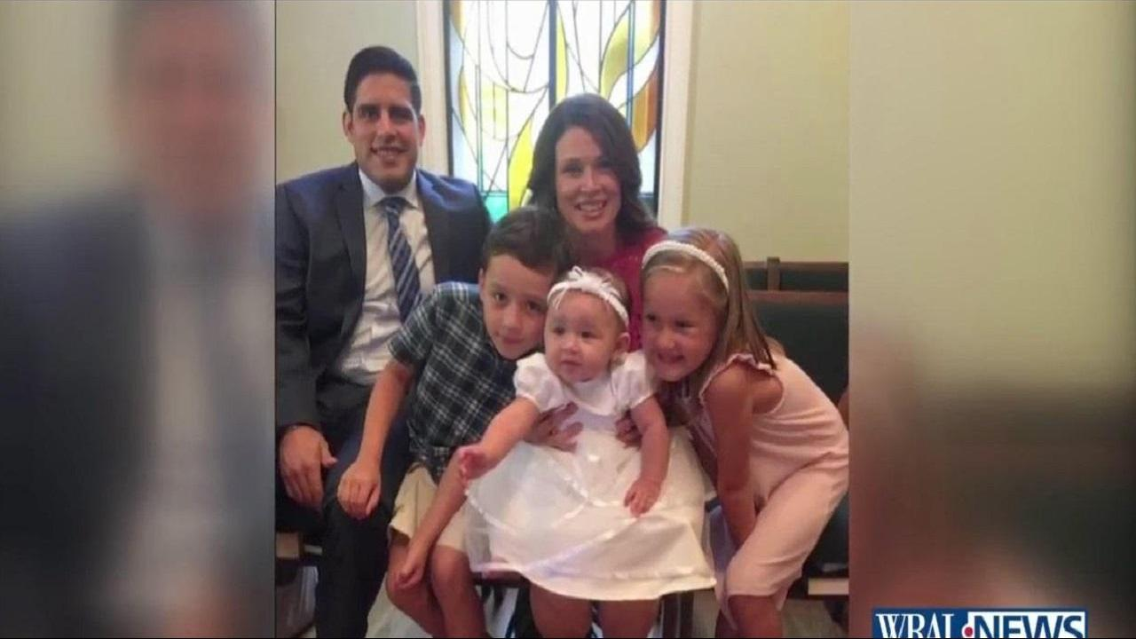Cary community rallies behind military family after man, his